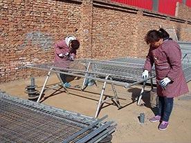 Australia Temporary Fence Panel Polishing